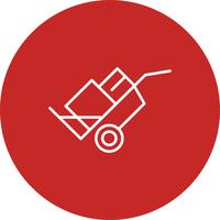 Icona del carrello vettoriale