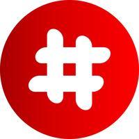 Vector Hash-pictogram