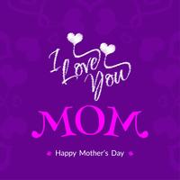 Abstract Mother's day background