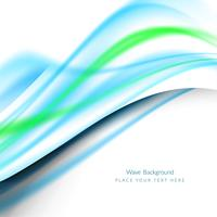 Abstract modern wavy background