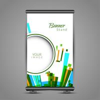 Modern roll up banner stand design