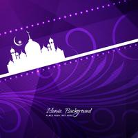 Abstract Eid Mubarak background