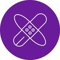 Icono de la banda de vectores