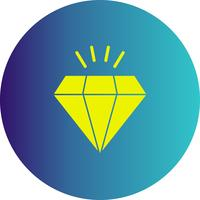 icono de diamante vector