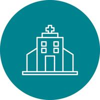 Vetorial, hospitalar, ícone