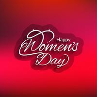 Fondo del día de la mujer moderna