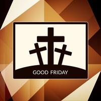 Modern good friday background