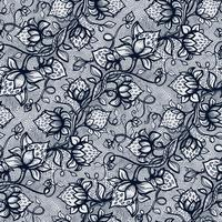 Vector lace seamless pattern