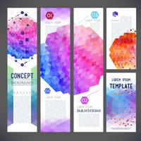 Abstract design banners, business theme, flyer printing, web design