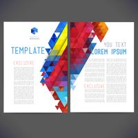 Abstract Vector Template-Design