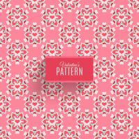 Decoration pattern with hearts