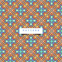 Boho tile seamless pattern background