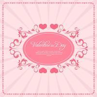 Sfondo vintage di San Valentino