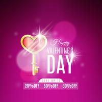 Alla hjärtans dag banner design