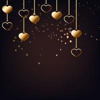 Elegant Valentine Bakgrund