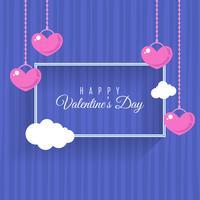 Fond plat pour la Saint Valentin
