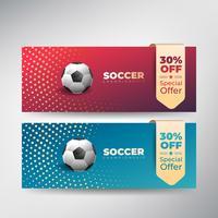 Fotbolls fotbolls mästerskap presentation flyer