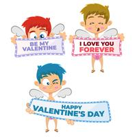 Collection Cupidon Saint Valentin