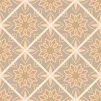Vintage vloertegels patroon