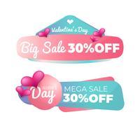Valentine's Day sale badge