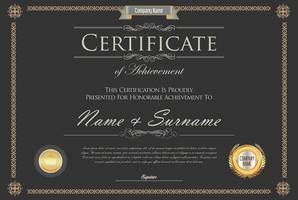 Certificado vector
