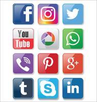 Social Media-Symbole
