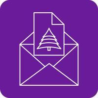 icono de correo electrónico de vector
