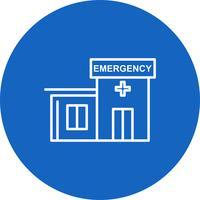Icona di emergenza vettoriale