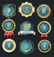 VIP label collection