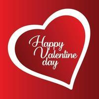 Valentijnsdag speciaal vectorontwerp voor uw liefde