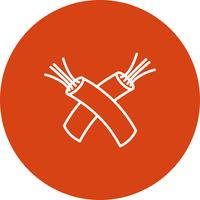 Vector wire icon
