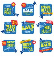 adesivi di vendita moderna