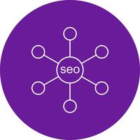 vector seo link pictogram