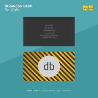 Professional Business Card Design Template