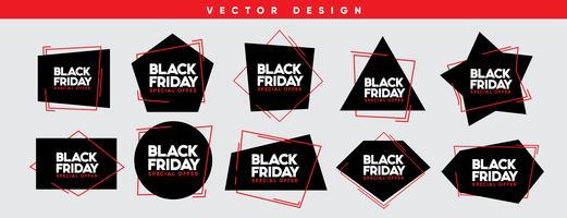 Illustrazione di vettore di vendita di Black Friday