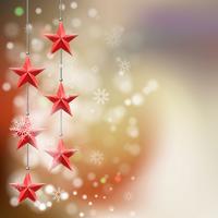 Fundo de estrela de Natal