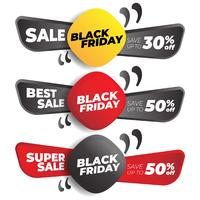 Set di Banner di Black Friday