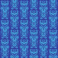 Hemelsblauw en blauw ornament