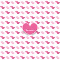 Valentine's day. seamless pattern with hearts