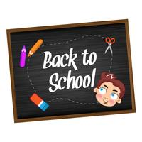 Back to school with happy children