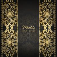 Luxury mandala design background