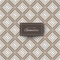 Vintage quadratisches geometrisches Muster