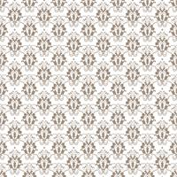 Floral pattern. Wallpaper baroque, damask. Seamless vector background. Gray and white ornament