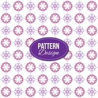Purple pattern with mandala