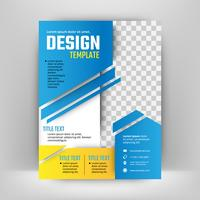 Vector ontwerp voor Cover Report Brochure Flyer Poster