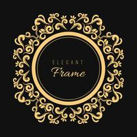 Decorative stylish background with a vintage frame