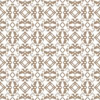 Floral pattern. Wallpaper baroque, damask. Seamless vector background. Light gray and white ornament