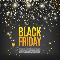 Background with lights, black friday