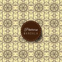 Floral and mandala pattern