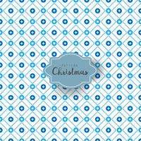 Seamless vintage pattern from snowflakes